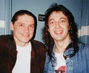 With legendary bluesmaster Robben Ford